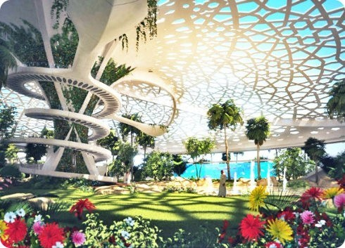 Palace for Nature: un moderno oasis en Qatar