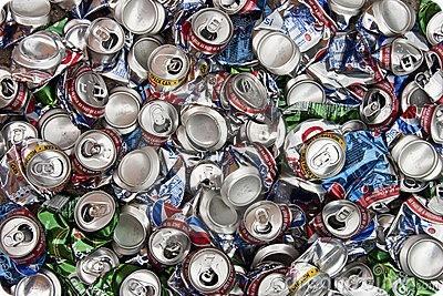 Gran reciclaje de envases metálicos en Europa