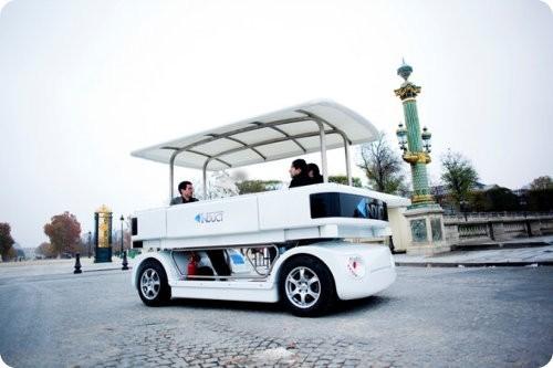 Navia: un auto sin chofer y totalmente eléctrico