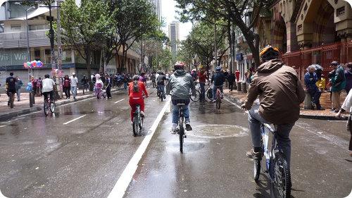 Bogotá: una semana sin autos