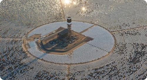 Comienza a operar la mayor planta de energía solar térmica en California