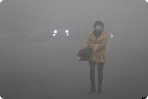 La contaminación de China prácticamente se convierte en un invierno nuclear