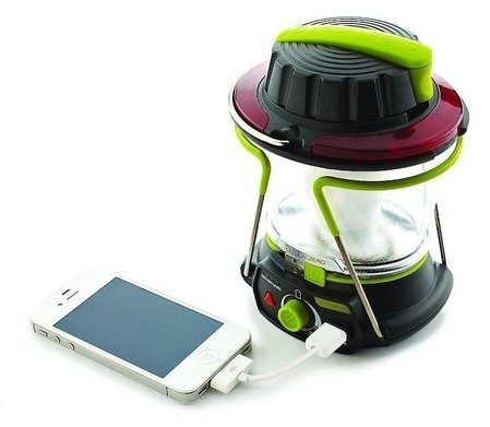Nueva lámpara LED que recarga tus dispositivos