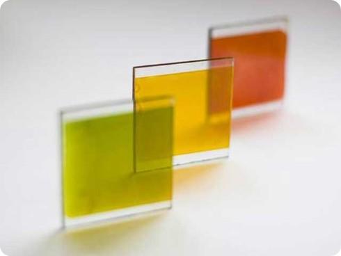 Pronto tendremos paneles solares de colores y semitransparentes