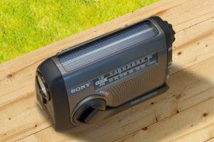 Sony ICF-B88, nueva radio con carga solar y manual