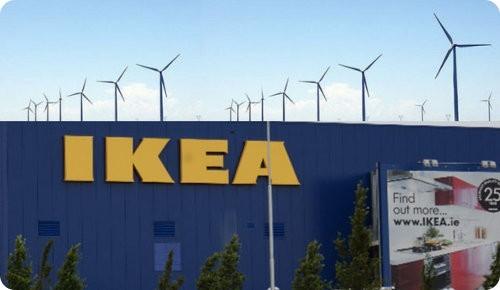 IKEA invierte en energía eólica