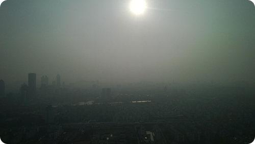 La limitada visibilidad en China