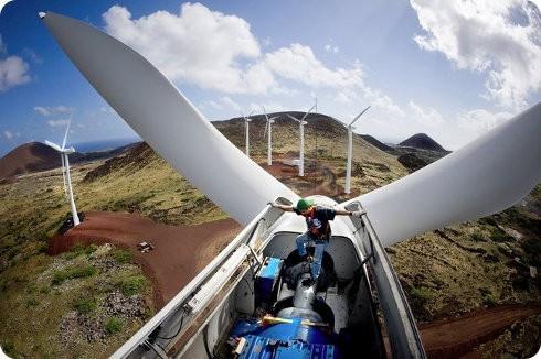Nuevo récord en energía eólica para Estados Unidos