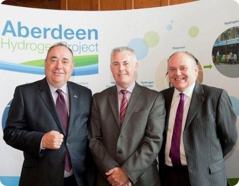 Aberdeen posee la mayor flota europea de autobuses potenciados por hidrógeno
