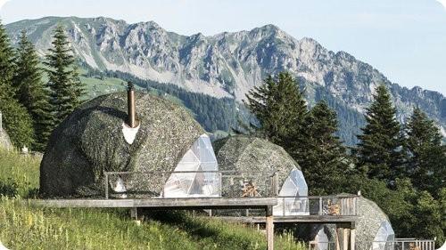Bonito resort ecológico en Suiza