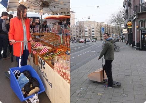 Conoce a Nimble, una scooter para llevar cargamentos
