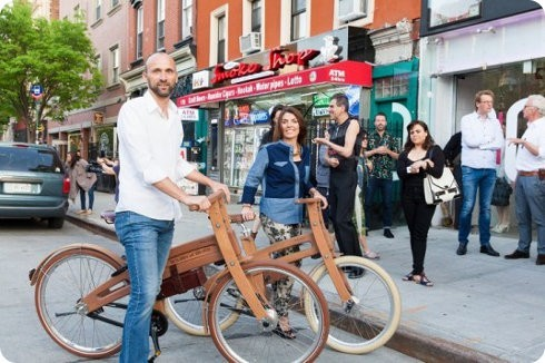 Esta es la primer bici eléctrica hecha de madera
