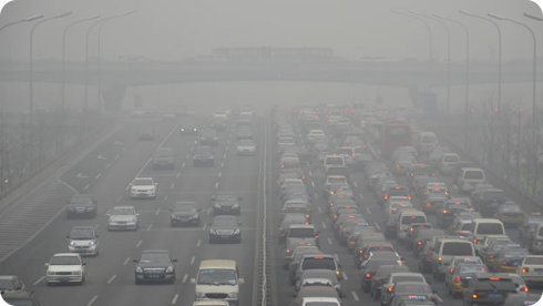 La contaminación del aire baja la expectativa de vida