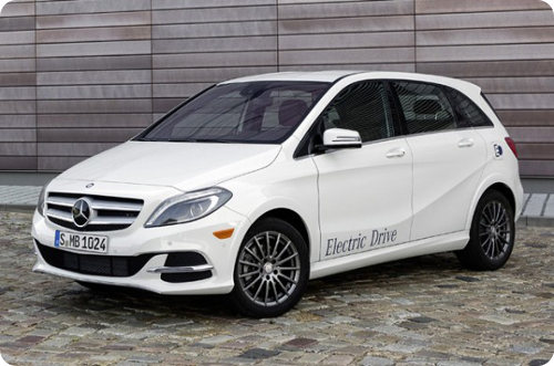 Nuevo Mercedes Benz B-Class eléctrico