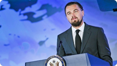 DiCaprio donará $7 millones de dólares a la conservación de los océanos