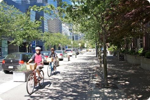 Las personas mayores son quienes más tienden a usar la bicicleta