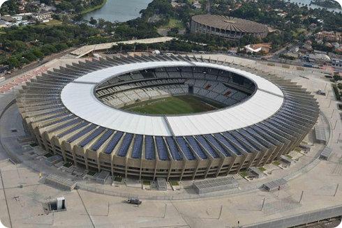 Los estadios ecológicos de Brasil 2014