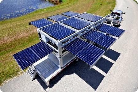 Mira la estación solar que puedes llevar a cualquier lugar
