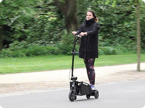 Trikelet: el vehículo eléctrico más pequeño, compacto y portátil del mundo