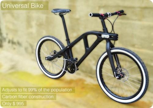 Esta bicicleta puede ser ajustada para que la use cualquier persona