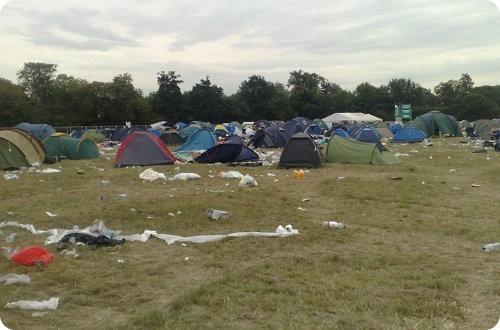 Los festivales de música son malos para el medio ambiente