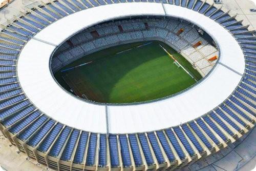 Mineirao el primer estadio mundialista alimentado completamente por el Sol