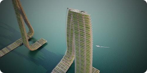 Nuevo proyecto de granjas verticales para Singapur