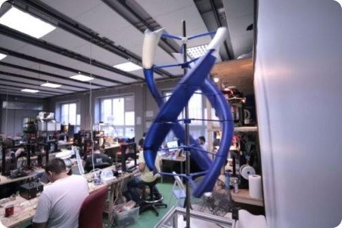 AirEnergy 3D: la turbina eólica que cabe en una mochila