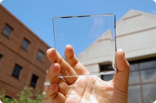 Científicos desarrollan un nuevo panel solar transparente