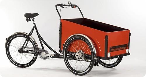 Las bicis de carga se vuelven cada vez más populares