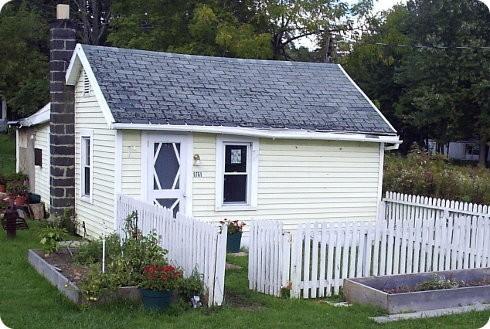 Las ventajas de vivir en una casa pequeña