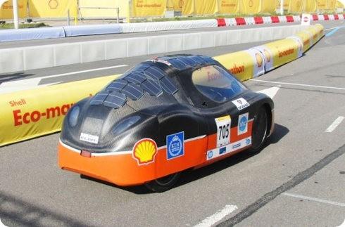 Mira este nuevo y estupendo auto eléctrico y solar