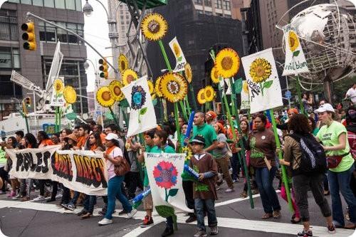 La marcha más grande de la historia contra el cambio climático