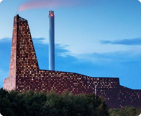 La nueva central de Roskilde generará electricidad a partir de basura