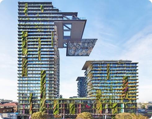 En Sídney está el jardín vertical más grande del mundo
