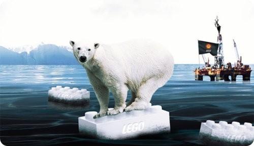LEGO abandona su asociación con Shell