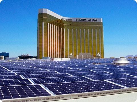 MGM posee la mayor instalación solar de techo en Estados Unidos