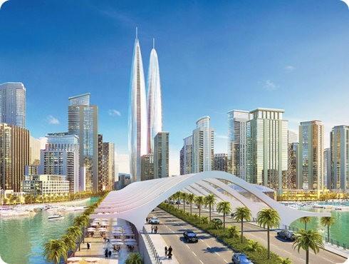 Dubai planea construir dos grandes torres ecológicas