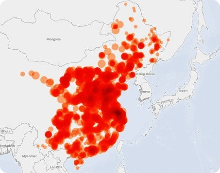 El smog mata a 670.000 personas en China cada año