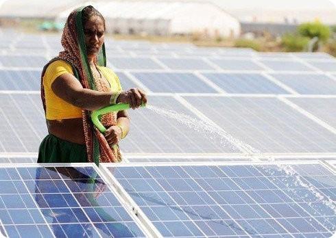 La energía solar en India sigue creciendo