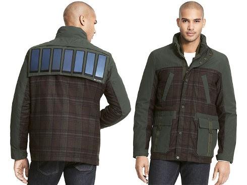 Tommy Hilfiger estrena una chaqueta con celdas solares