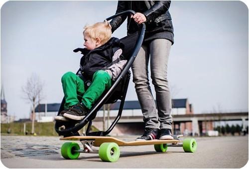 longboardStroller-nuevo-transporte-para-ninos-y-adultos