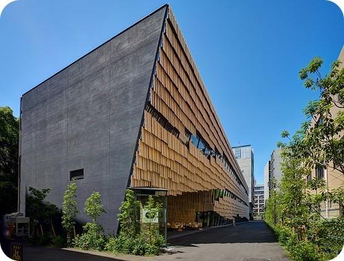 nueva-fachada-orgánica-en-la-universidad-de-tokio