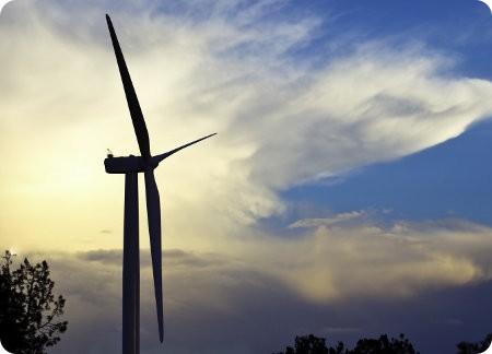 Estados Unidos ha triplicado el uso de energía eólica desde 2008