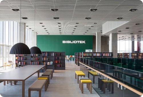 La mayor biblioteca de Escandinavia usa energía solar