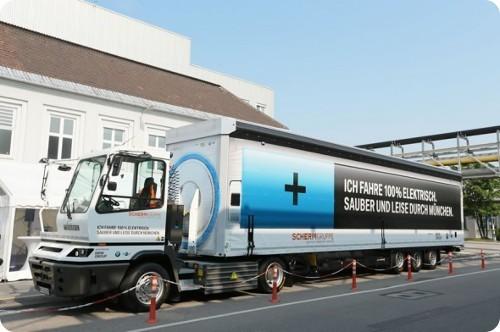 BMW y SCHERM presentan un genial camión 100 eléctrico