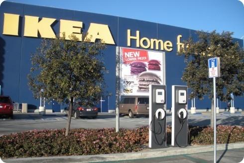 IKEA tendrá estaciones de recarga sin costo en Canadá