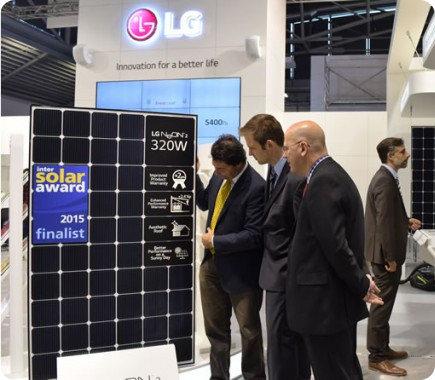 LG anuncia su panel solar más eficiente hasta la fecha