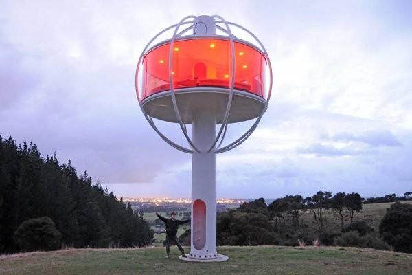Mira esta genial casa que funciona con energía solar
