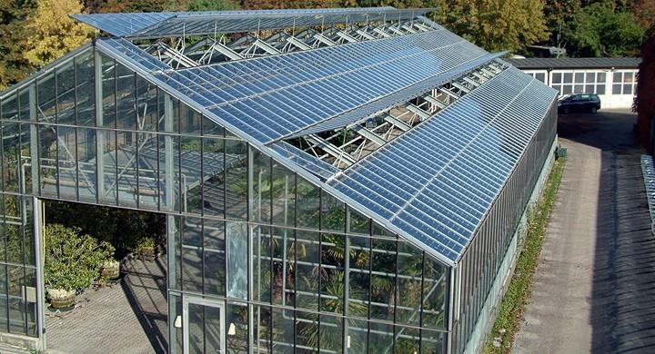 Invernadero genera electricidad a través de paneles solares